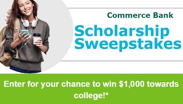 Commerce Bank Scholarship Sweepstakes