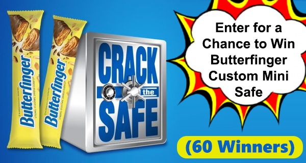 Butterfinger Crack the Safe Social Sweepstakes