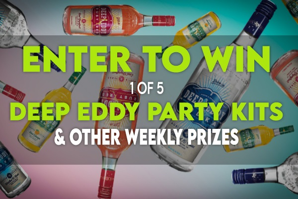 The Deep Eddy Summer Party Sweepstakes