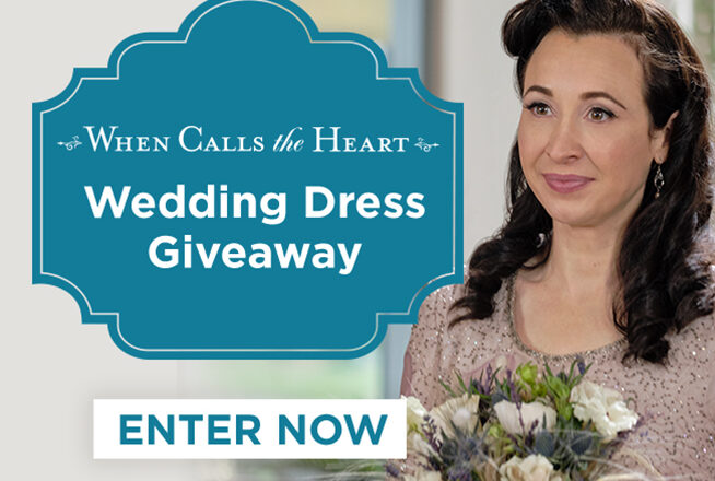 When Calls The Heart Wedding Dress Sweepstakes