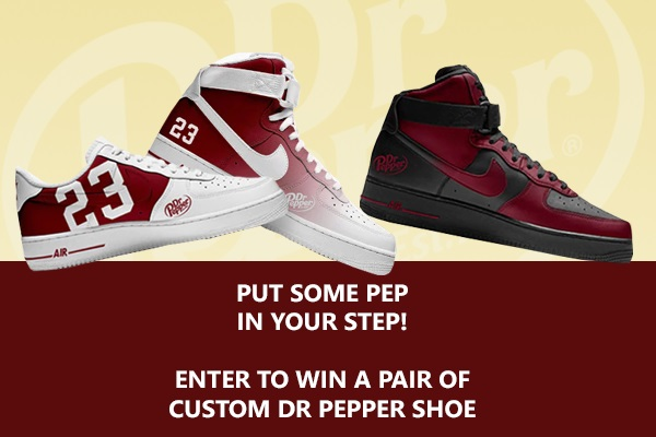 Dr Pepper Shoe Giveaway