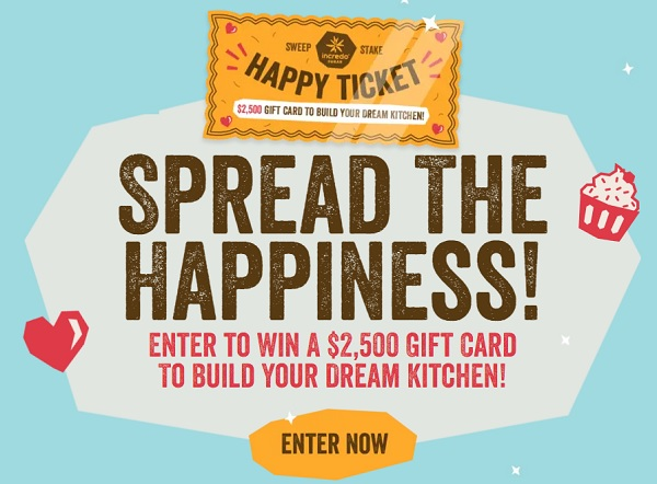 Incredo Spread the Happiness Sweepstakes