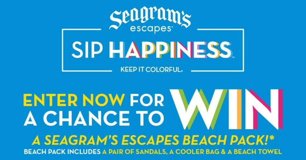 Seagram's Escapes Spring Break Beach Pack Sweepstakes