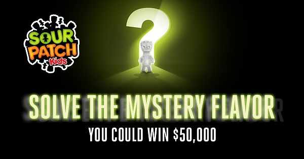 Sour Patch Kids Mystery Sweepstakes