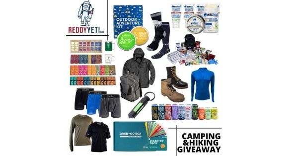 Camping and hiking Giveaway