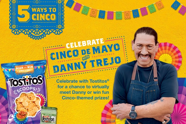 Tostitos 5 Ways To Cinco Sweepstakes