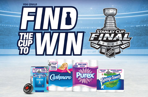 Find The Cup to Win Contest