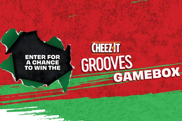 Cheez-It Grooves $1800 Gamebox Giveaway