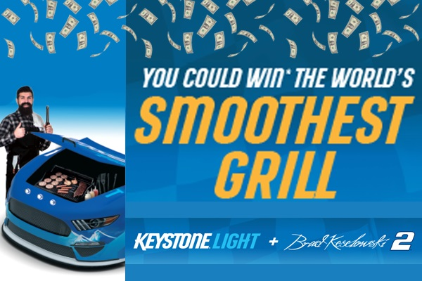 Keystone Light Smoothest Grill Sweepstakes