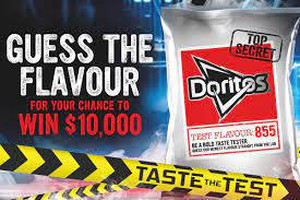 Doritos Guess The Flavour Competition