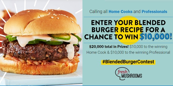 Food Network Blended Burger Recipe Contest