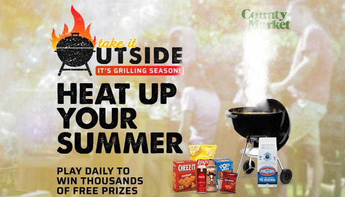 County Market Take It Outside Instant Win Game And Sweepstakes