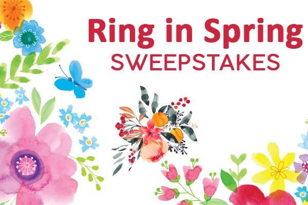 HGTV Mag Online Ring in Spring Sweepstakes