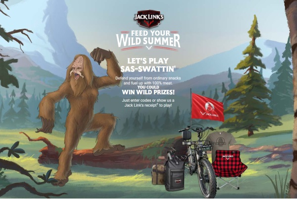 Jack Links Feed Your Wild Summer Instant Win Game and Sweepstakes