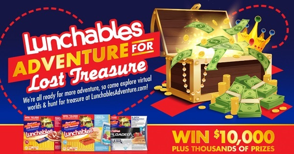 Lunchables Adventure Sweepstakes and Instant Win Game