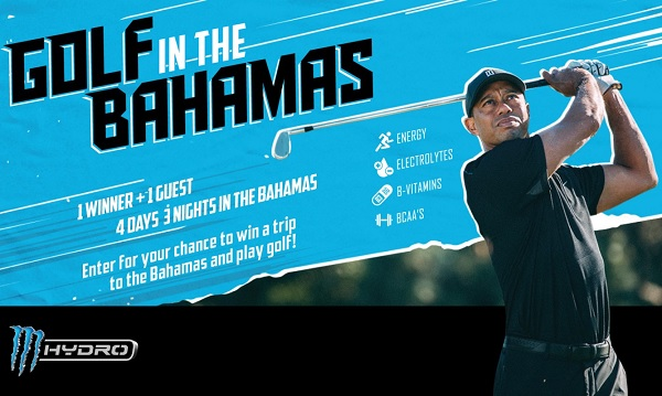 Monster Energy Bahamas Golf Vacation Giveaway