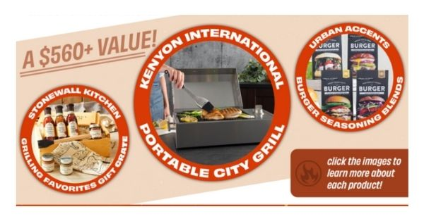 YankeeUltimate Grilling Giveaway