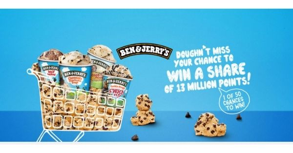 Woolworths Rewards Ben & Jerrys Competition
