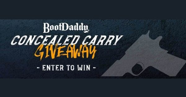 BootDaddy Concealed Carry Vest Giveaway