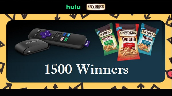 Hulu National Streaming Day Sweepstakes