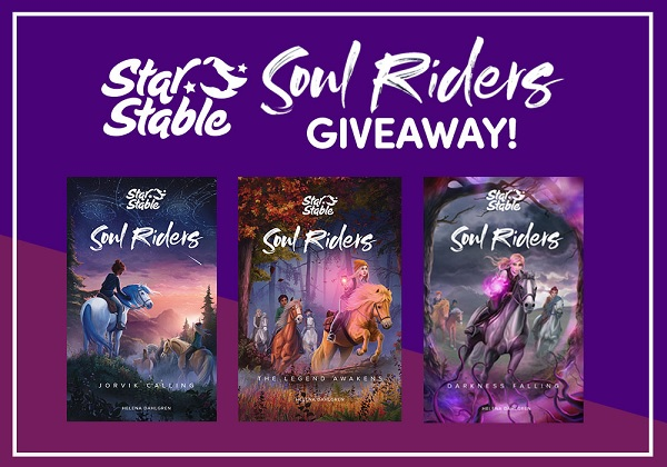 Star Stable Soul Riders Free Book Giveaway