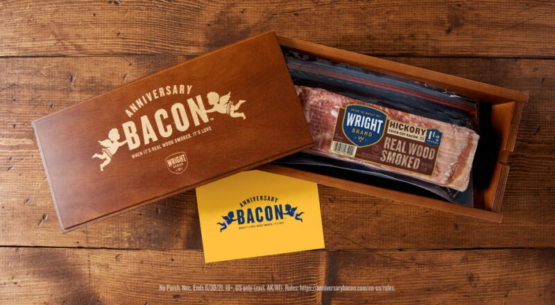 Wright Brand Anniversary Bacon Sweepstakes