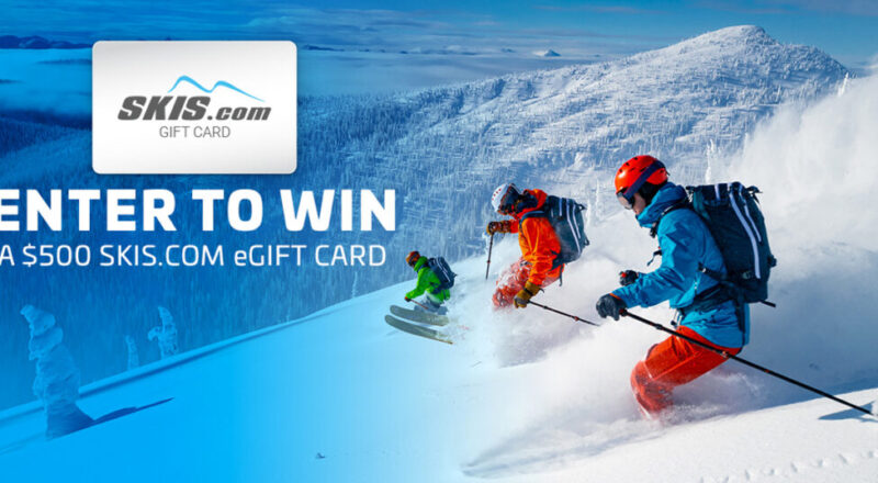 SKIS Gift Card Giveaway