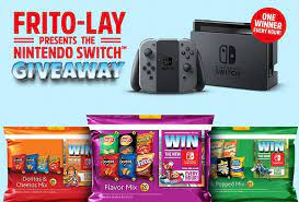 Frito Lay Variety Packs Nintendo Switch Bundle Contest