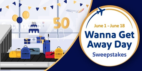 Southwest Airlines 50th Anniversary Sweepstakes