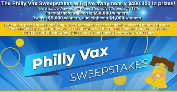 Philly Vax Sweepstakes