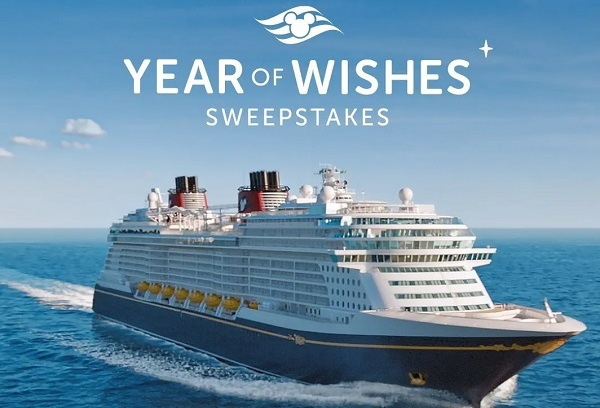 Disney Year of Wishes Sweepstakes