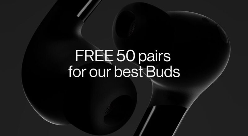 OnePlus Buds Pro Giveaway