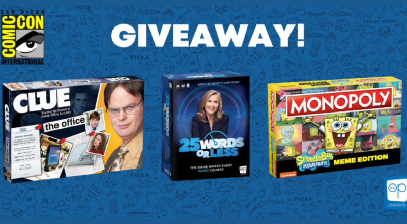 Op Games Comic-Con at Home Giveaway
