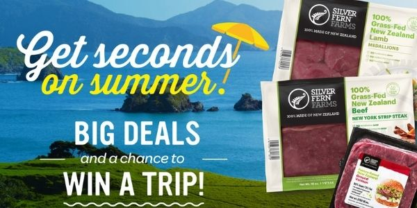 Silver Fern Farms Summer Grilling Sweepstakes