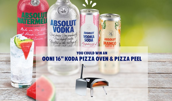 Absolut Summer Sweepstakes