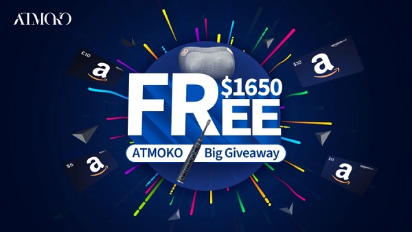 Atmoko Spin to Win Giveaway