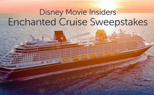 Disney Cruise Line Vacation Sweepstakes