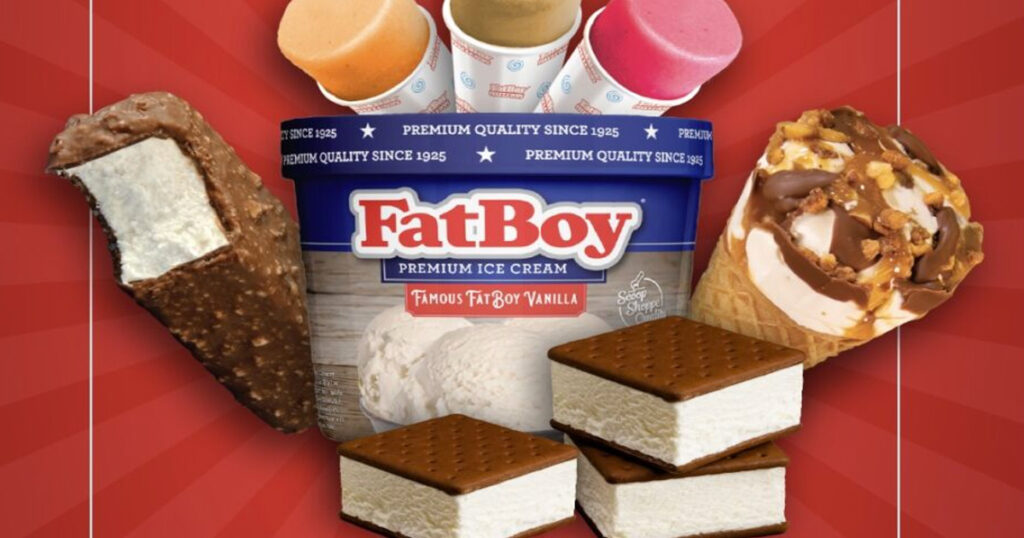 Years Supply of FatBoy Ice Cream Giveaway