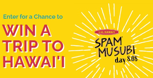 National Spam Musubi Day Sweepstakes