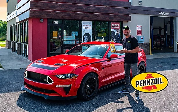 Pennzoil Mustang Car Sweepstakes