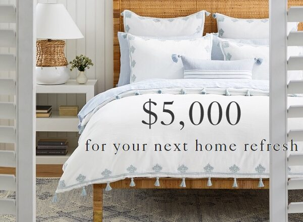 Serena and Lily $5000 Home Makeover Sweepstakes