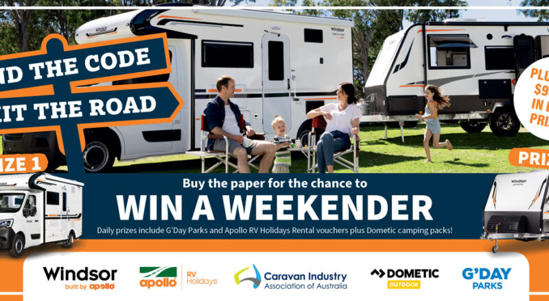 Lets Go Caravan and Camping Win A Weekender Competition