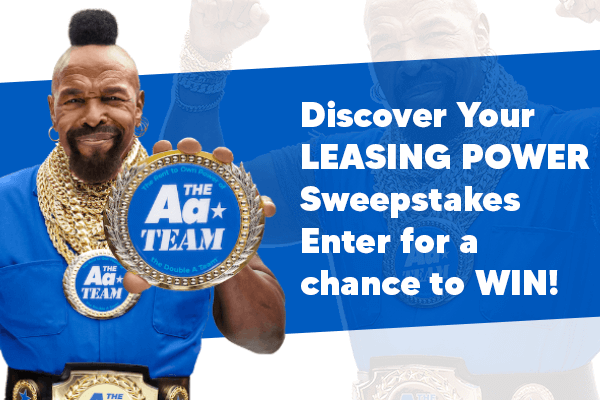 Aarons Summer Discover Your Leasing Power Sweepstakes