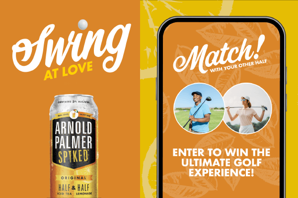Arnold Palmer Spiked Swing at Love Photo Contest