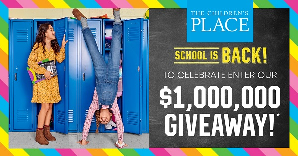 Childrens Place Back-to-School Giveaway