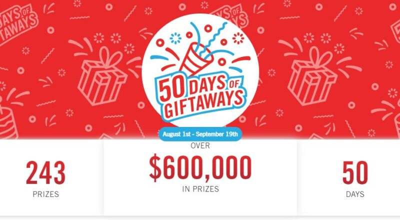 The Brick 50 Days of Giftaways Contest