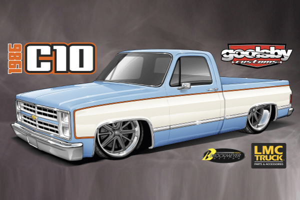 86 Chevy Squarebody pickup for the Goodguys Giveaway