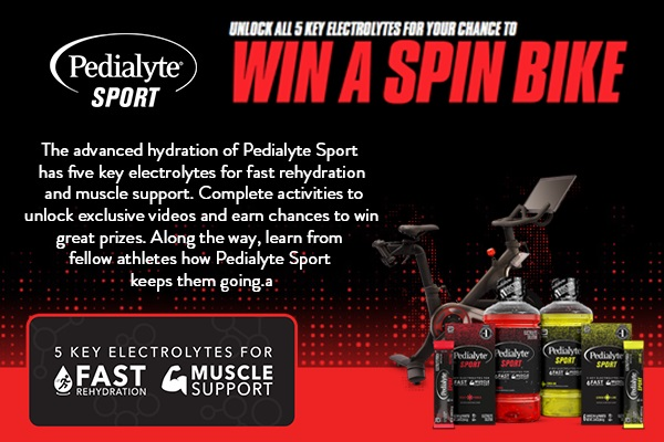 The Pedialyte Strive for Five Sweepstakes