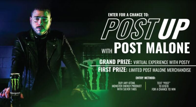 Monster Energy Post Malone Contest