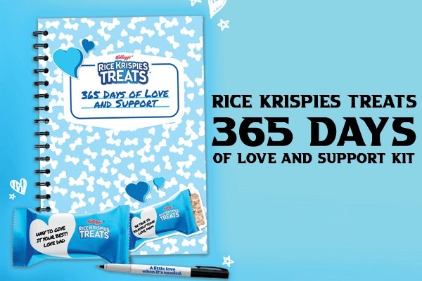 Rice Krispies Treats 365 Days of Love and Support Kit